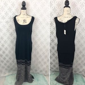 Calvin Klein Knit Sleeveless Maxi Dress NWT